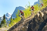 Mountain Bike race Canmore Nordic Centre