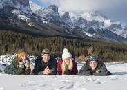 53 Lynx family lay snow mtns 2_pamdoyle w