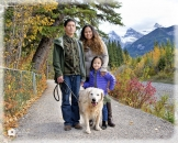 Canmore Family portrait path_pamdoylephoto ww