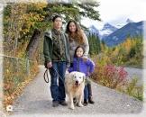 Canmore Family portrait path_pamdoylephoto ww
