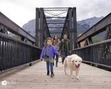 Family walk dog Eng bridge_pamdoyle ww