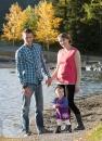 Beautiful family portrait at Quarry Lake