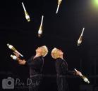 Shrine Circus jugglers