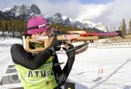 Sarah Murphy biathlete shooting