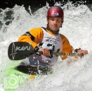 Scott Feindel kayaking Kananaskis River