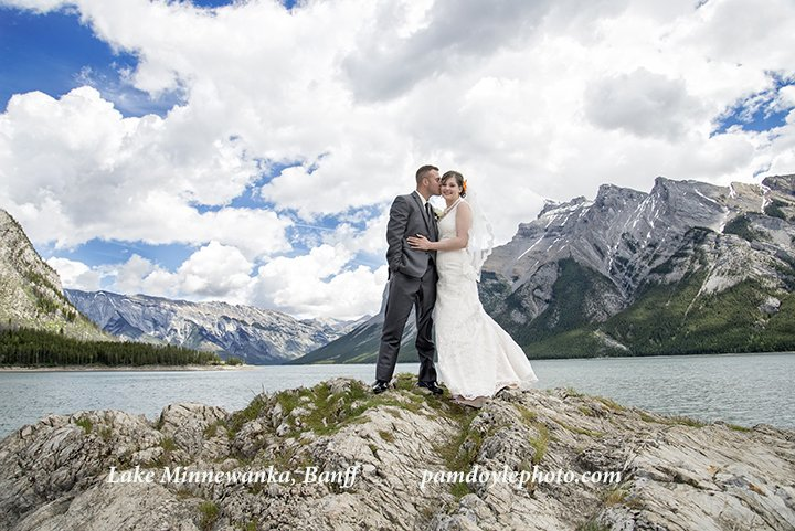 Wedding Photo Location Canmore Banff Pam Doyle Photography