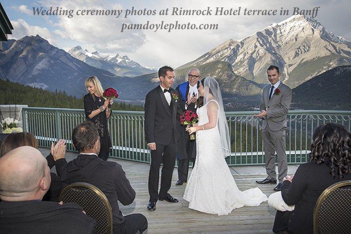 Wedding Photo Location Canmore Banff Pam Doyle Photography