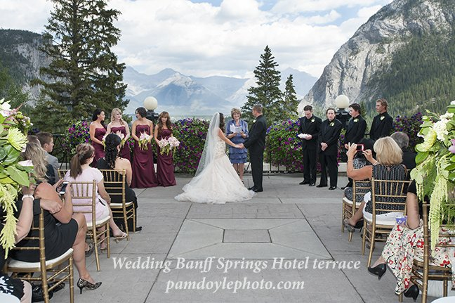 Wedding Photo Location Canmore Banff