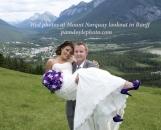 Wed Mt Norquay Banff_pamdoyle w