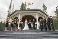 WeddingBanffCentralParkgazebo w