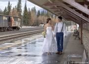 Banff Wedding train station_pamdoyle ww