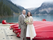 LakeLouise wed red canoes _pamdoyle www