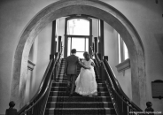 ChateauLakeLouise stairs bw_pamdoylephoto ww