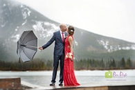 Banff Kiss w umbrella_pamdoyle