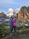 Mount Assiniboine couple vert_pamdoyle