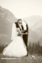 Romantic Mountain Kiss sepia_pamdoyle ww