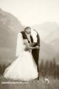 Romantic Mountain Kiss sepia_pamdoyle ww