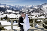 Sunshine Village wedding Rock Isle Lake_pamdoyle ww