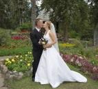 Wedding Cascade Gardens Banff_pamdoyle