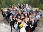 Wedding large group photo