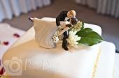 Wedding detail cake topper