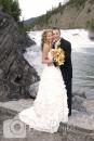 Bow Falls, Banff wedding