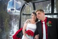Wedding on Banff Gondola