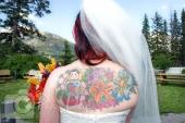 Wedding bride tattoo