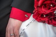 Skull flowers wedding