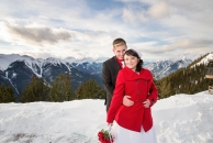 Top of Banff Gondola wedding