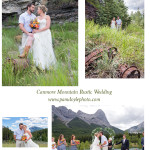 Canmore Rustic Mountain Wedding
