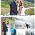 Canmore, Alberta Rainy Weddings Bring Good Luck