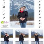 Banff Winter Engagement photo session