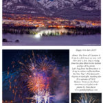 Happy New Year 2018 from Canmore, Alberta, Canada
