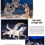 Lake Louise Ice Magic Ice Carvings 2018