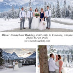 Winter Wonderland Wedding at Silvertip in Canmore, Alberta