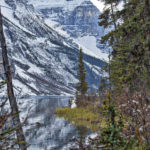 Majestic Mountains at Lake Louise wedding